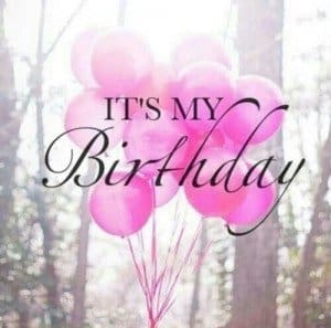 It's My Birthday