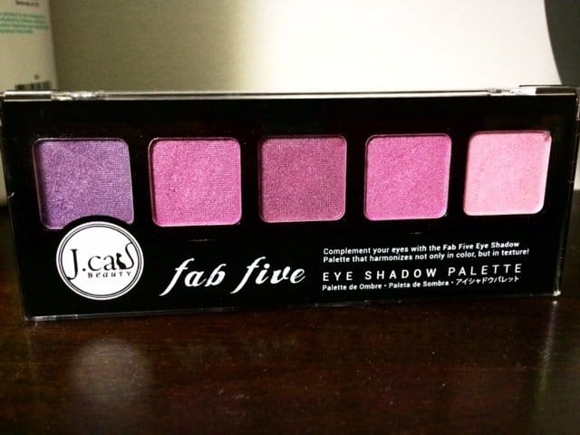 Jcat Fab Five Eyeshadow Palette