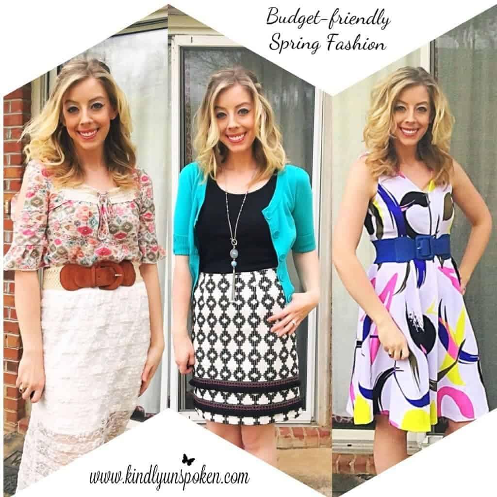 Budget-friendly Spring Fashion