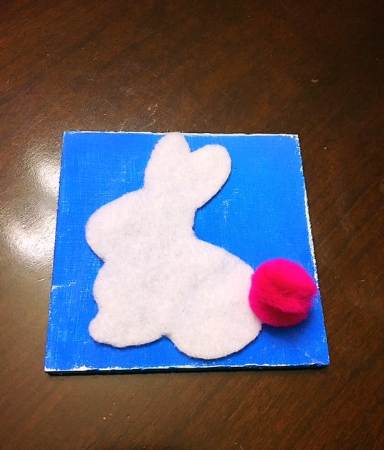Easter Tile Door Hanger DIY (12)