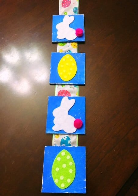 Easter Tile Door Hanger DIY (13)