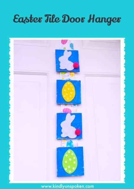 Easter Tile Door Hanger (DIY)