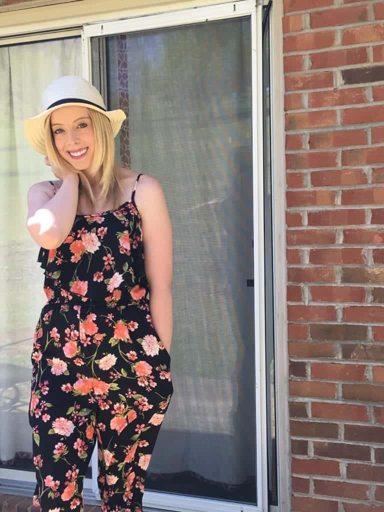 Spring Floral Jumpsuit