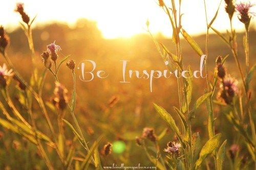 Things Inspiring Me Lately