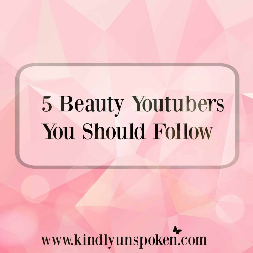 5 Beauty Youtubers to Follow