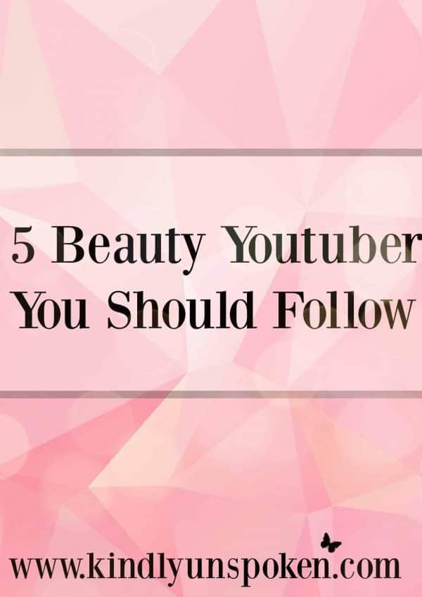 5 Beauty Youtubers You Should Follow