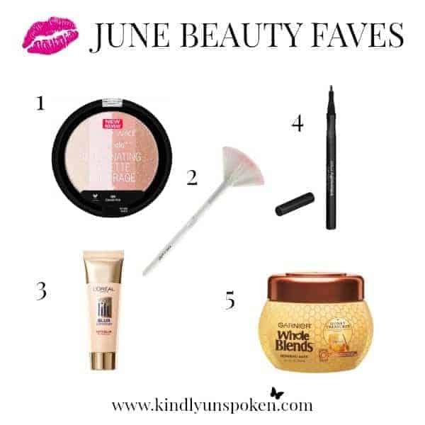 June Beauty Favorites Kindly Unspoken