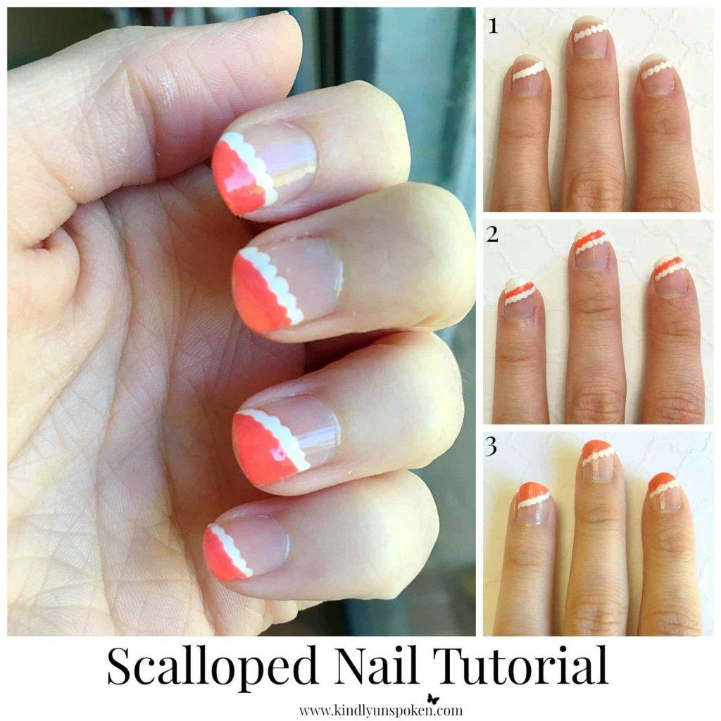 Scalloped Nail Tutorial (1)