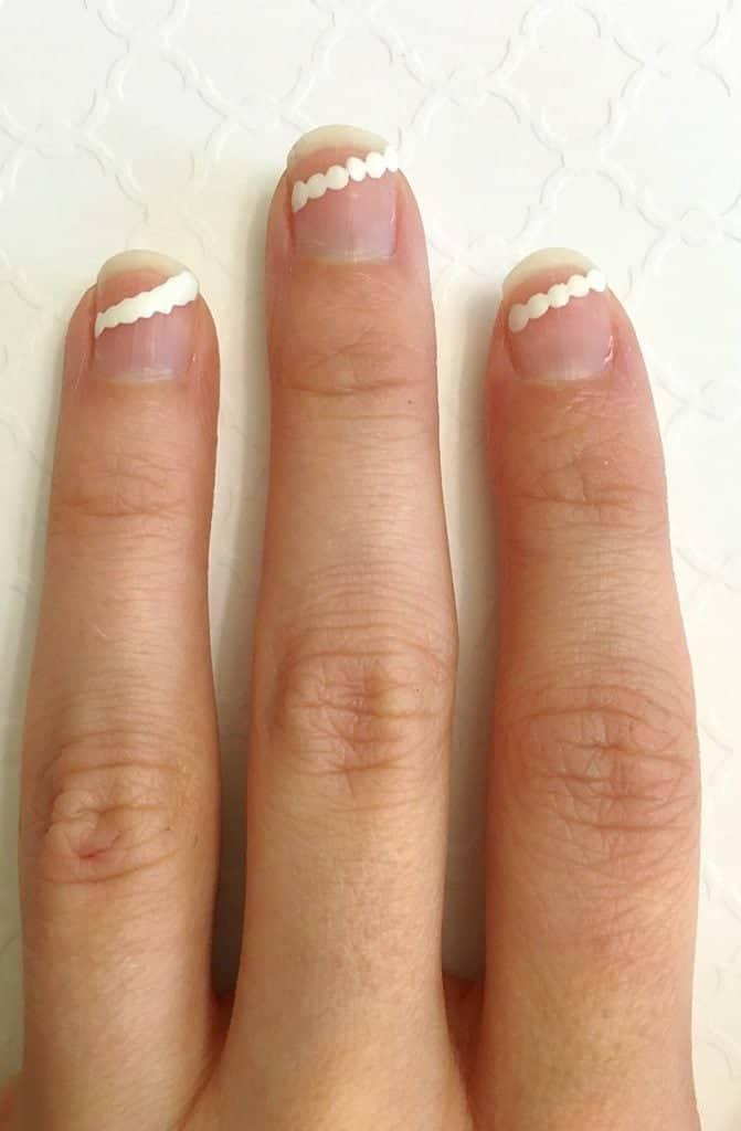 Scalloped Nail Tutorial (6)