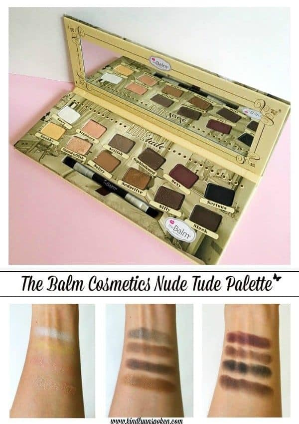 The Balm Cosmetics Nude Tude Palette Review