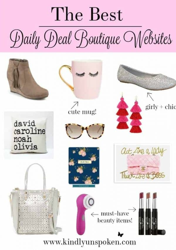 The Best Daily Deal Boutique Websites To Save Money