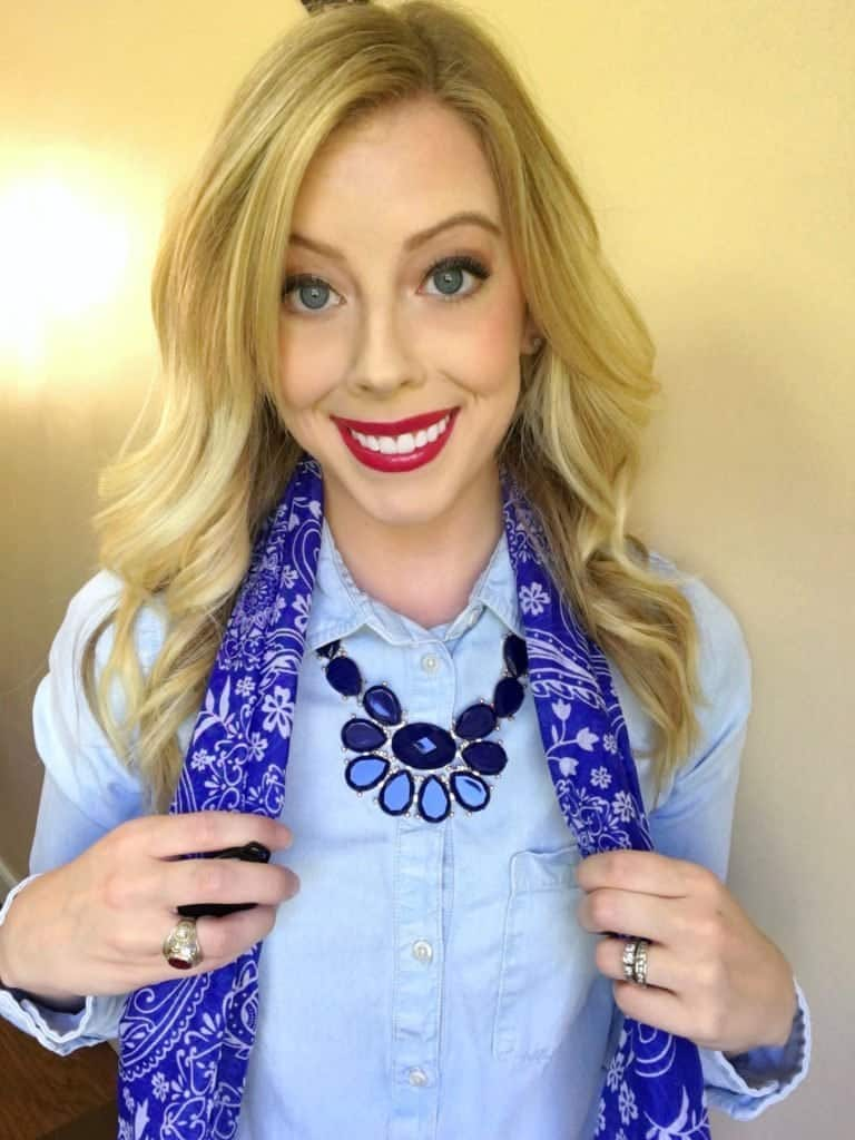 easy-game-day-scarf-hair-tutorial-2
