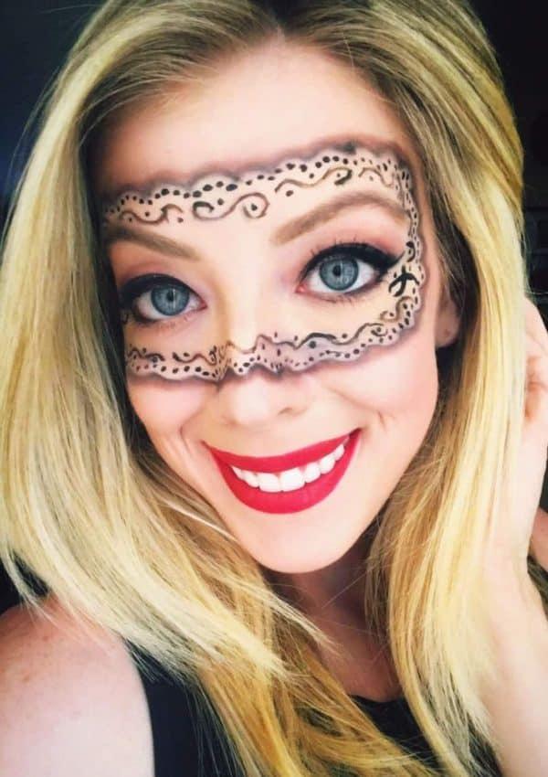 5 Pretty + Easy Halloween Makeup Looks