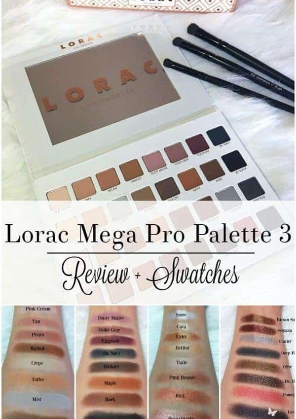 Lorac Mega Pro Palette 3 Review + Swatches