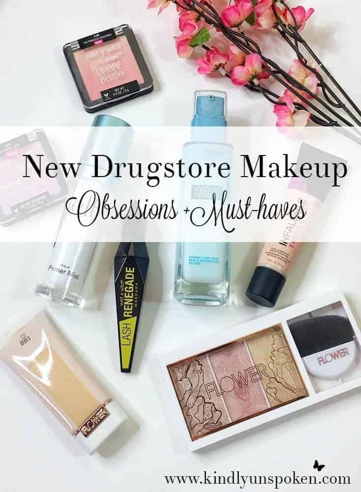 New Drugstore Makeup Obsessions and Must-Haves
