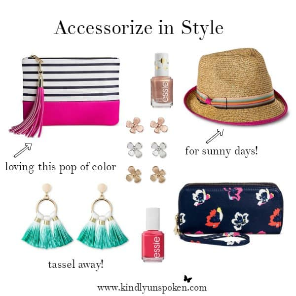 Accessorize in Style- Spring Obsessions at Target
