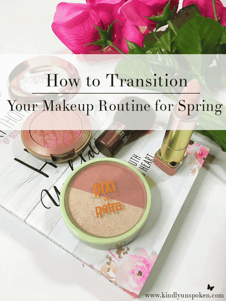 How to Transition Your Makeup Routine for Spring