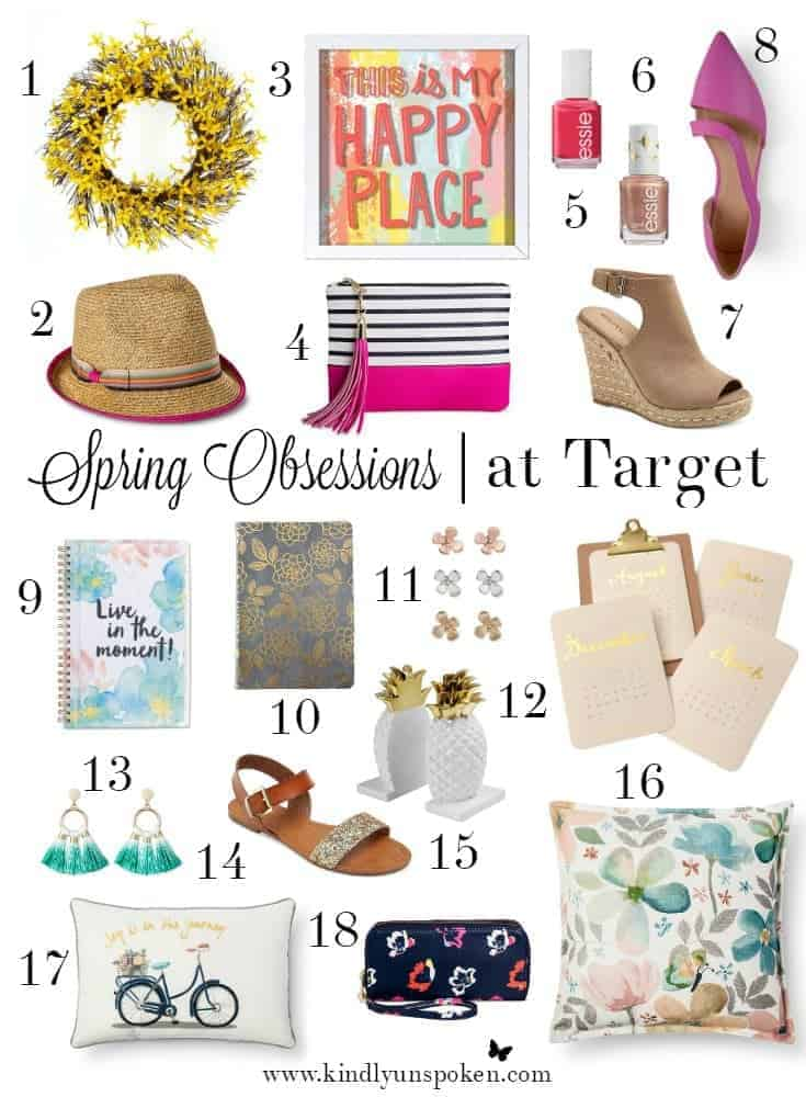 Spring Obsessions at Target- Shop my fave picks!