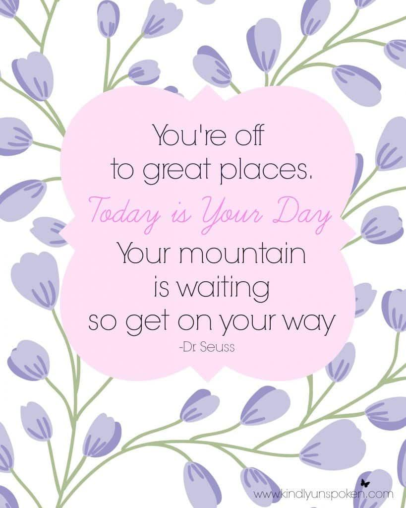 Check out my 5 Spring Motivational Quotes for spring inspirational quotes and encouragement on new beginnings this spring season. Download my free 8x10 printables and hang on your wall at home or in your office. #printable #springquotes #inspirationalquotes #motivationalquotes #springinspiration