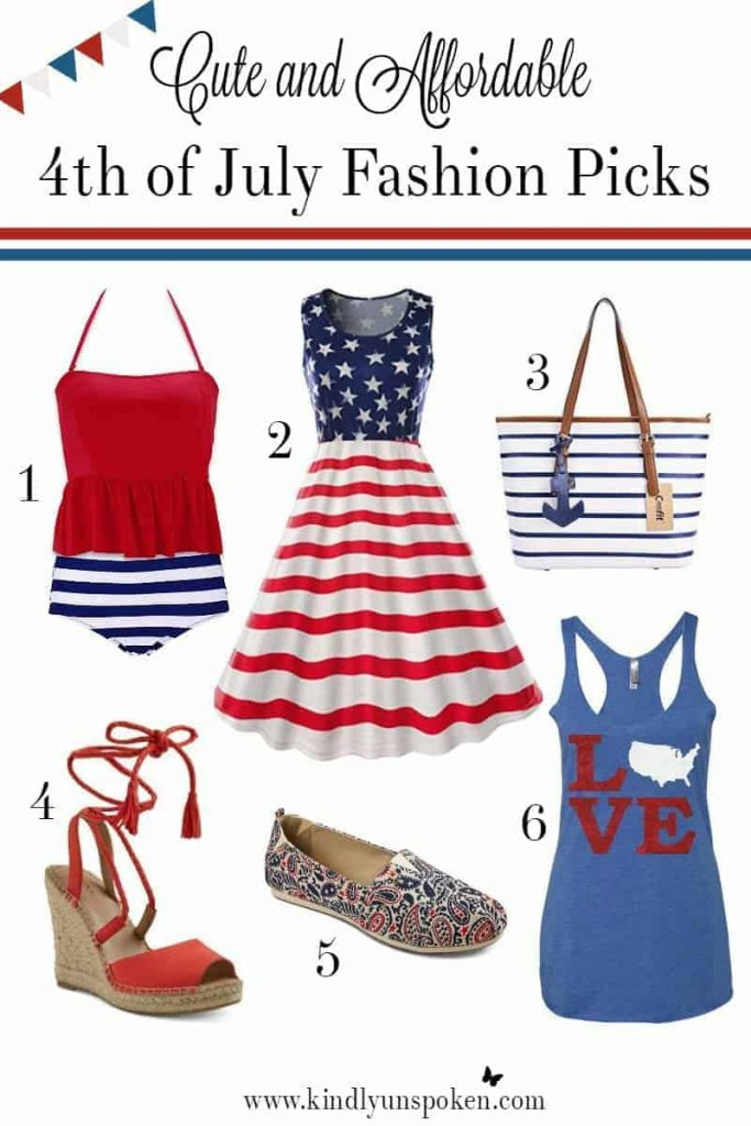 Cute and Affordable 4th of July Fashion Picks- Under $25!