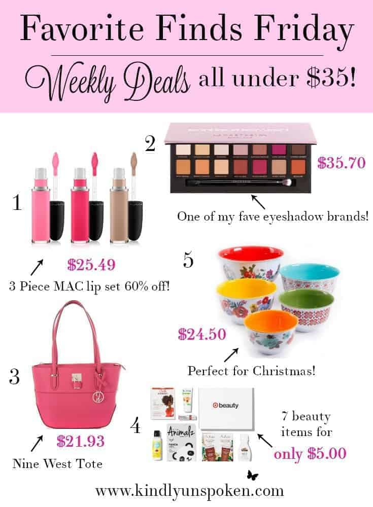 Favorite Finds Friday- Weekly Deals Under $35