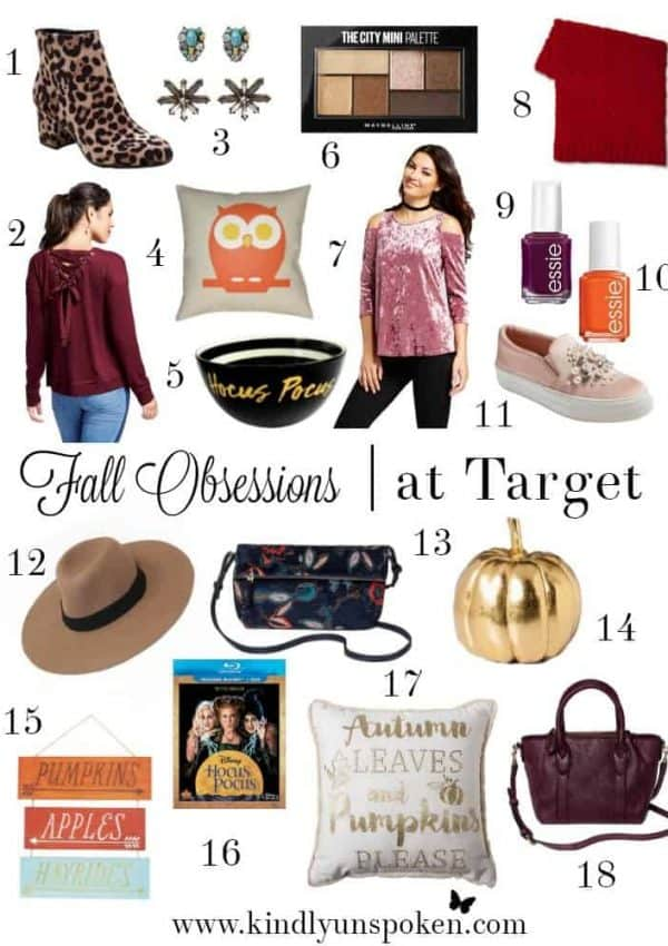 Fall 2017 Obsessions at Target