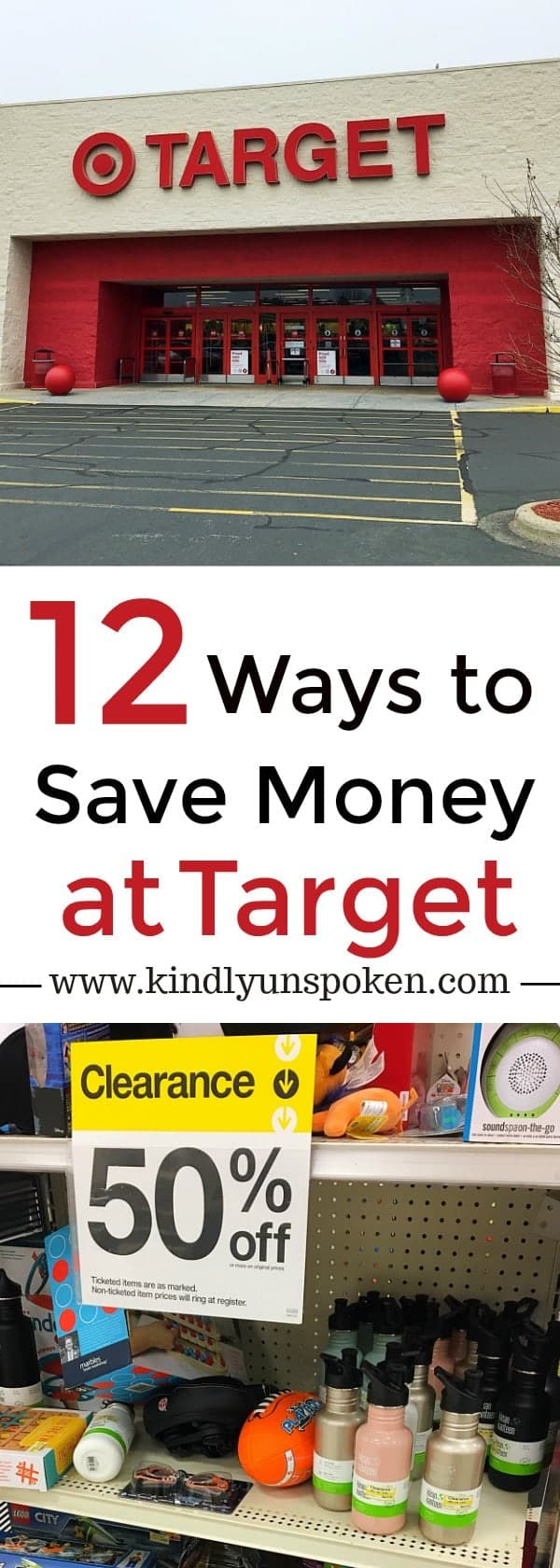12 Ways to Save More Money at Target- Ever wanted to know how to save more money when shopping at Target? Today I'm sharing 12 Secrets On How to Save More Money at Target and my best kept tips and tricks on how to score the absolute best deals!