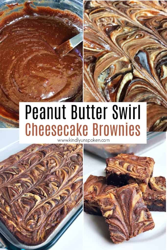 Forget boring box mix brownies and try out my Best Ever Cheesecake Peanut Butter Swirl Brownies for the best brownies you'll ever eat! Featuring a simple fudge brownie box mix, swirls of decadent peanut butter and sweet cheesecake, these easy and delicious Peanut Butter Swirl Brownies will quickly become your new favorite brownie recipe to make!