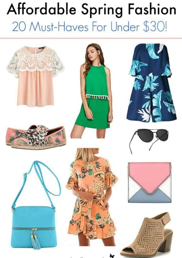 20 Affordable Spring Fashion Must-Haves Under $30