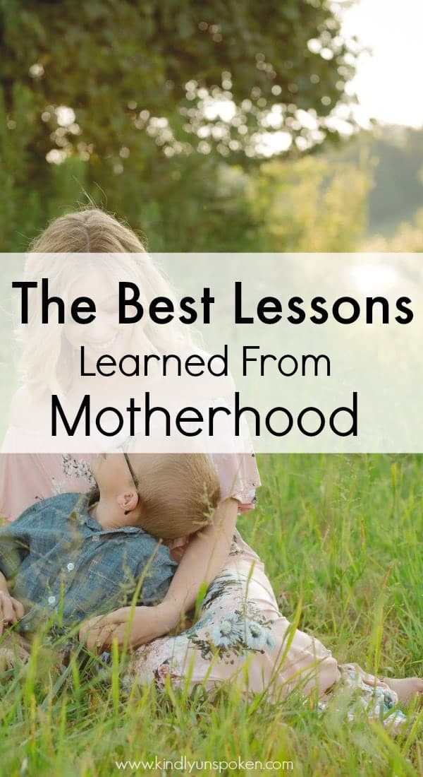 Being a mother to kids is an incredible gift, so today I'm sharing 5 important life lessons my boys taught me. From lessons learned to important truths, I'm sharing bits of encouragement on how to be a better mom and why we should learn from our children and take their advice on living life to the fullest, playing more and worrying less, and loving unconditionally. #motherhood #parenting #parentingadvice #parentingtips #momlife