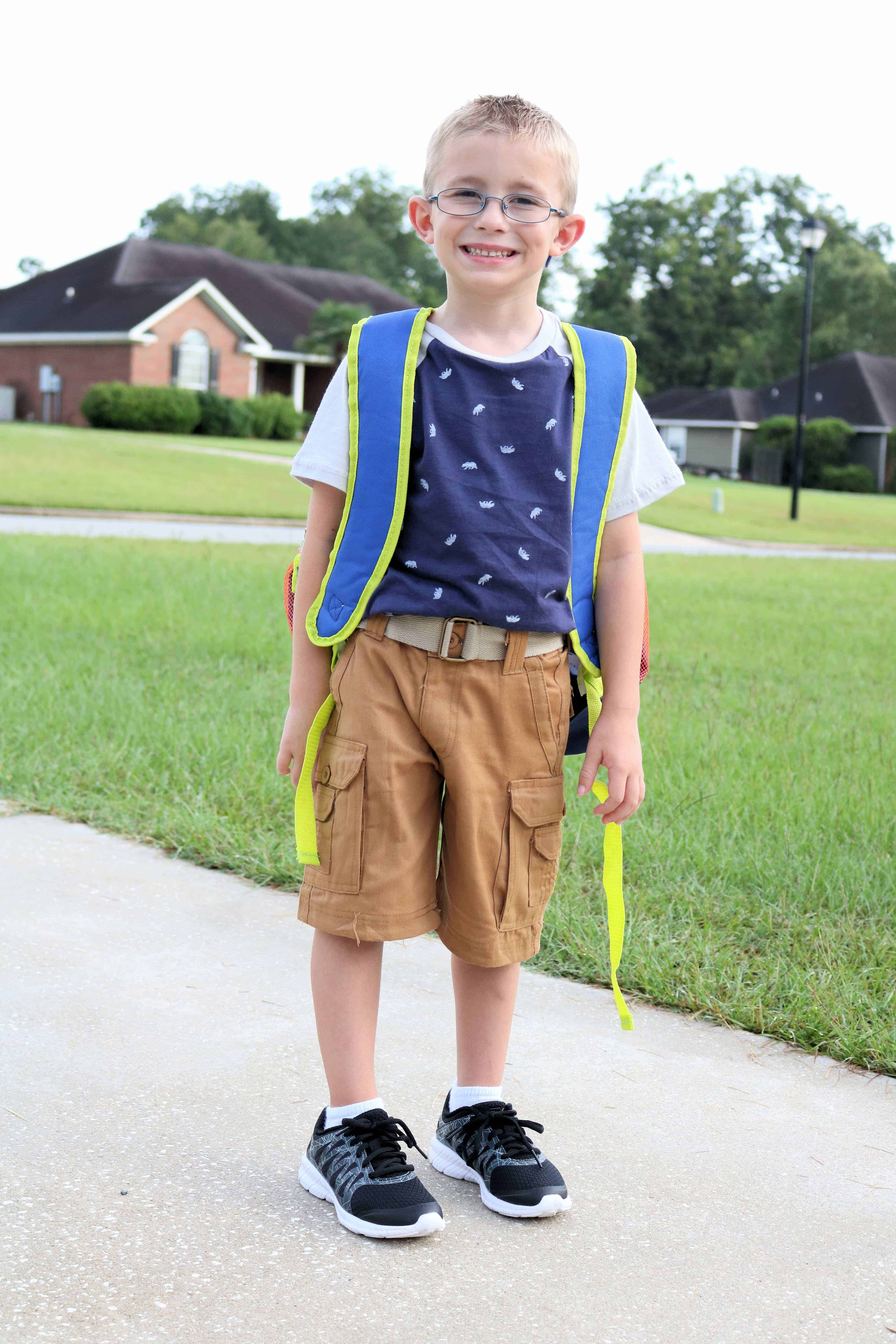 Looking for ways to save on back to school clothes shopping? Then check out my post on how I stay under budget and find everything my kids need for back to school by shopping at Bealls Outlet. Plus check out the cute first day of school outfits and backpacks my kids will be rocking this school year! #ad #BeallsOutlet #backtoschool #budgeting #shopping