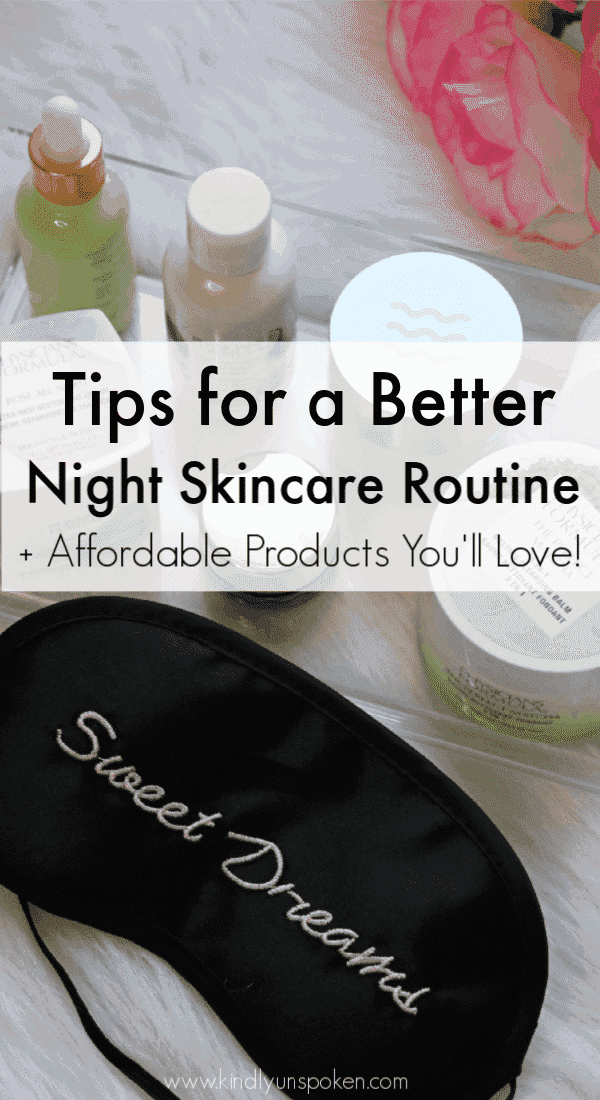 Ready to switch up your skincare routine this year? Check out my post on the best night skincare routine with affordable skincare products you need in your collection. I'm also sharing the best order to apply all your skincare products! #ad #physiciansformula #skincare #skincareroutine