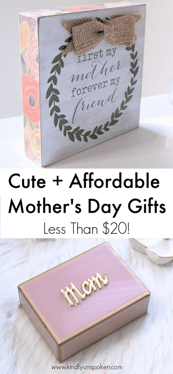 Needing affordable gift ideas for Mother's Day? Check out this Mother's Day gift guide with beautiful gifts at Bealls Outlet (all under $20) that Mom will love to receive! #ad #beallsoutlet #mothersdaygifts #mothersday #giftguide