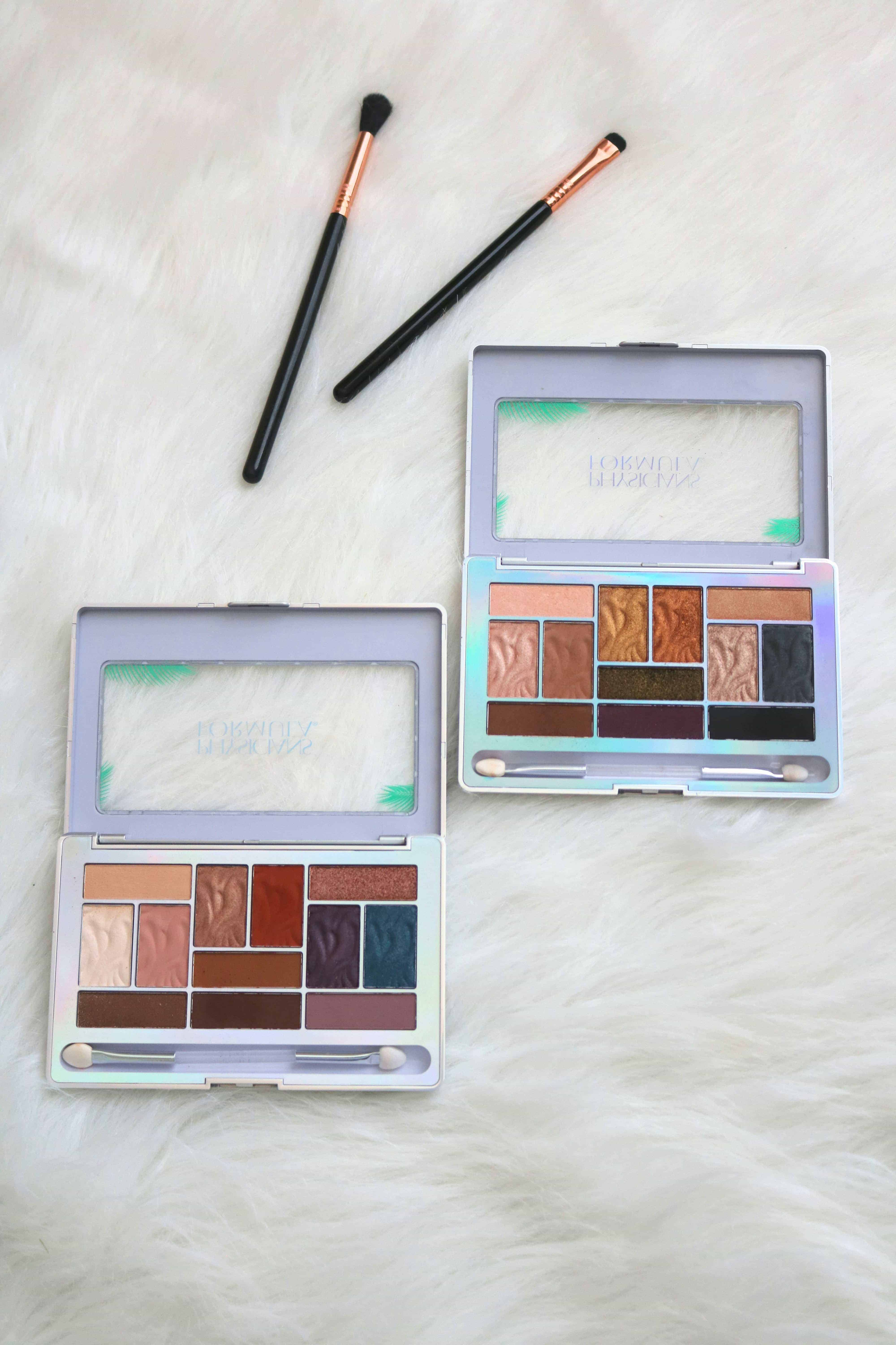 New Drugstore Makeup Alert! The Physicians Formula Butter Eyeshadow Palettes feature 12 gorgeous shades each and would be a great addition to your spring and summer makeup collection. Click through for the full review with swatches! #drugstoremakeup #eyeshadowpalette #physiciansformula