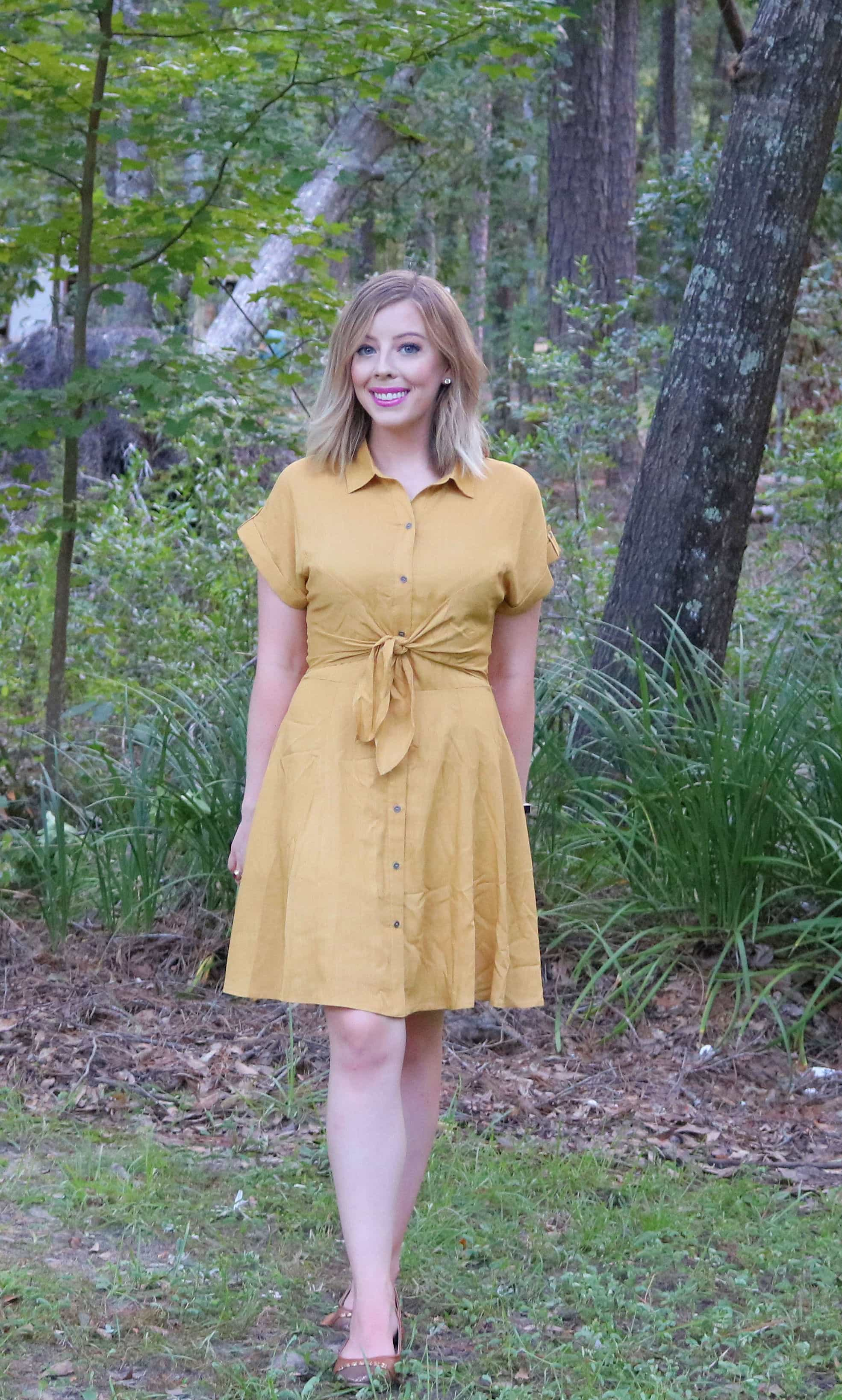 Transition your wardrobe with these Cute Summer to Fall Dresses from Bella Ella Boutique! Both cute and affordable, you'll love wearing these beautiful boutique dresses all season long! #summerdresses #falldresses #bellaellaboutique #boutiquedresses