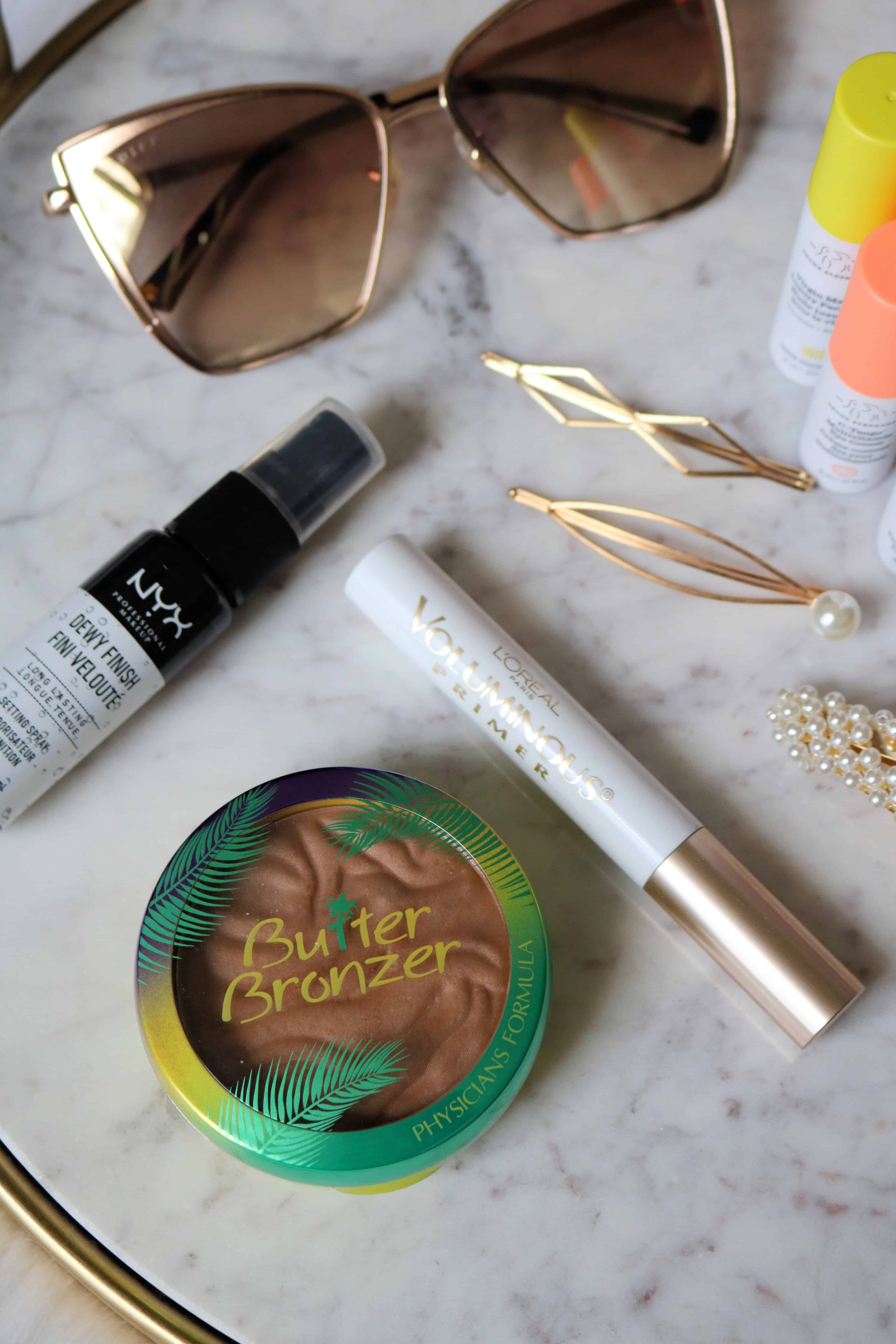 Check out my 10 Summer Beauty & Fashion Favorites full of must-have summer makeup, skincare, and affordable summertime fashion and accessories! #beautyfavorites #makeup #skincare #fashionmusthaves