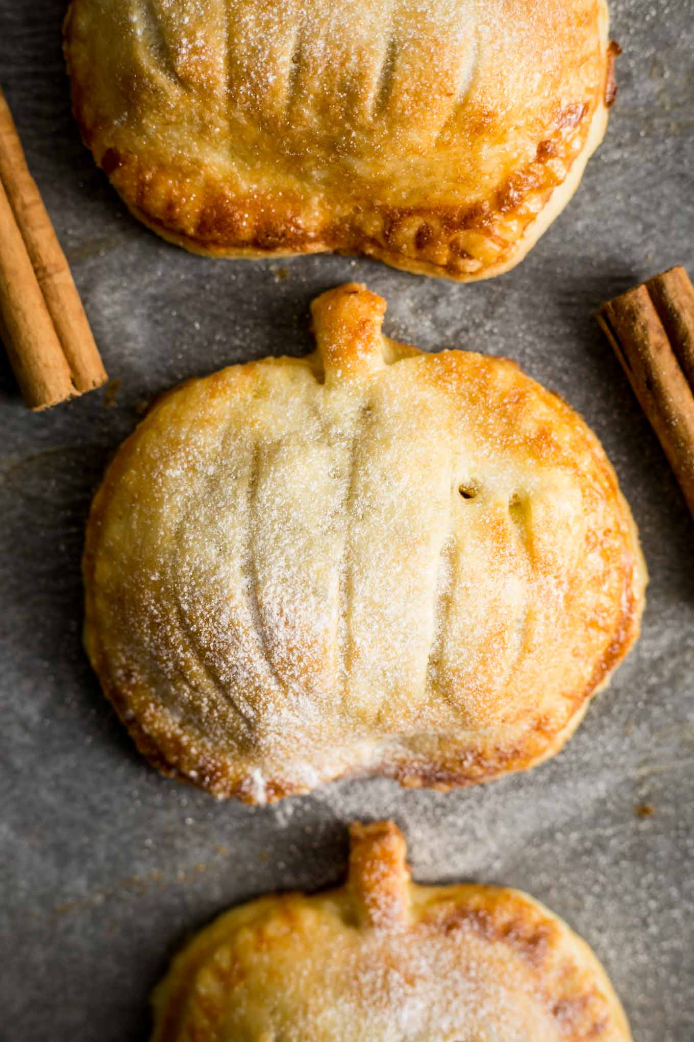 Spiced Apple and Pumpkin Hand Pies - Love apple desserts? Get your fall baking on with these 15 delicious and easy apple dessert recipes including the best apple pies, cakes, apple crisp, and more! #applerecipes #appledesserts #baking #fallbaking