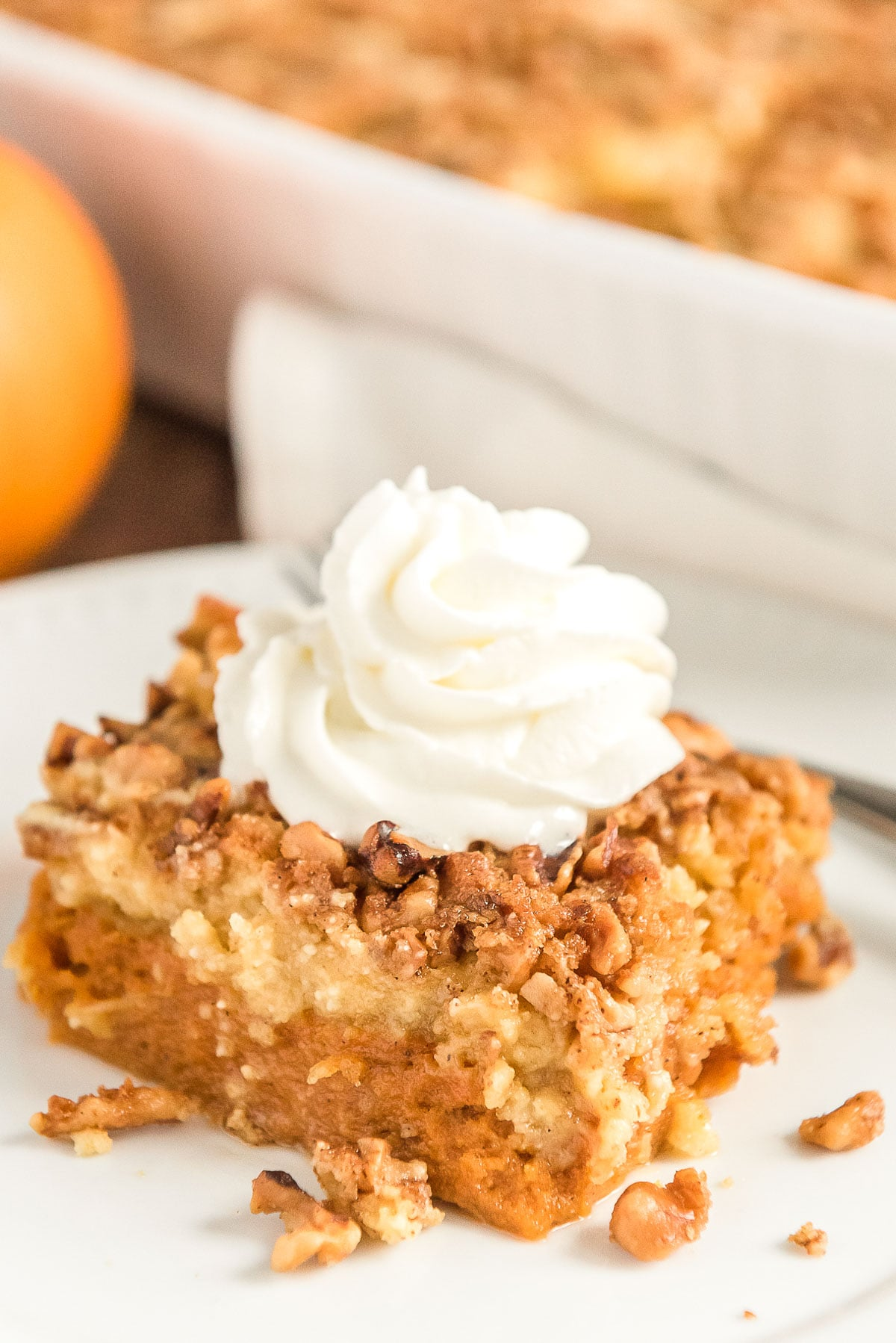 Pumpkin Dump Cake | Check out these 15 Easy Pumpkin Desserts for Fall and Thanksgiving! From quick and easy desserts with simple ingredients like pumpkin pie and pumpkin cream cheese bread, to pumpkin cookies, cheesecake, and cake, you'll love this list of the best pumpkin desserts ever!  #pumpkindesserts #pumpkinrecipes #falldesserts #thanksgiving