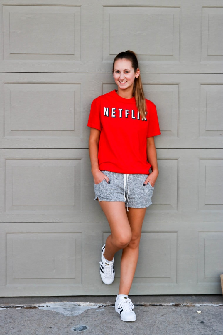 Netflix & Chill Halloween Costume - Looking for cute, cheap, and easy Halloween costumes or unique last-minute, DIY Halloween costume ideas? Check out these 40 Creative Halloween Costume Ideas for women, moms, cute couples, small and large families, and best friends! You're sure to win the best Halloween costumes with these picks. #halloween #halloweencostumes #halloweencostumeideas #easycostumes