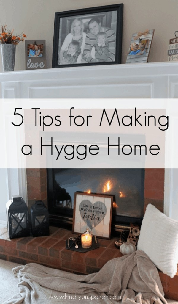 Learn how to create a hygge home that is cozy, comforting, and welcoming with my 5 easy tips! #hygge #minimalism #homedecor #falldecor #trappfragrances