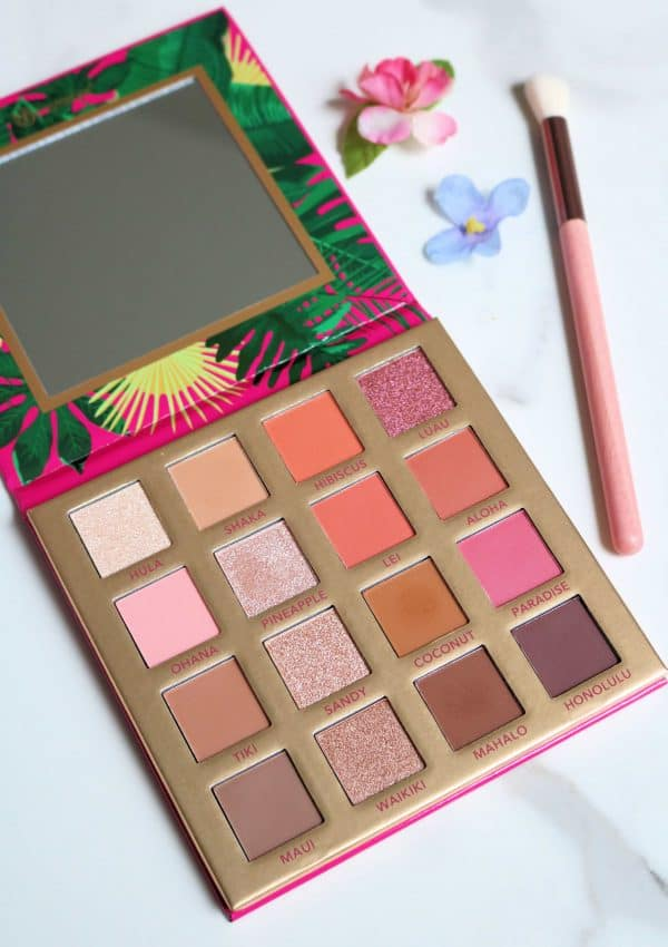 Hangin' in Hawaii – BH Cosmetics Palette Review