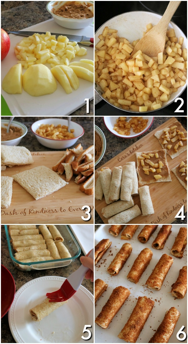 #ad These Apple Peanut Butter French Toast Roll-Ups are filled with delicious, diced apples and an irresistible peanut butter cinnamon sugar swirl. They're made with simple ingredients and only take 10 minutes to bake in the oven! #HowDoYouPB #NationalPeanutBoard #frenchtoastrollups #breakfastrecipes