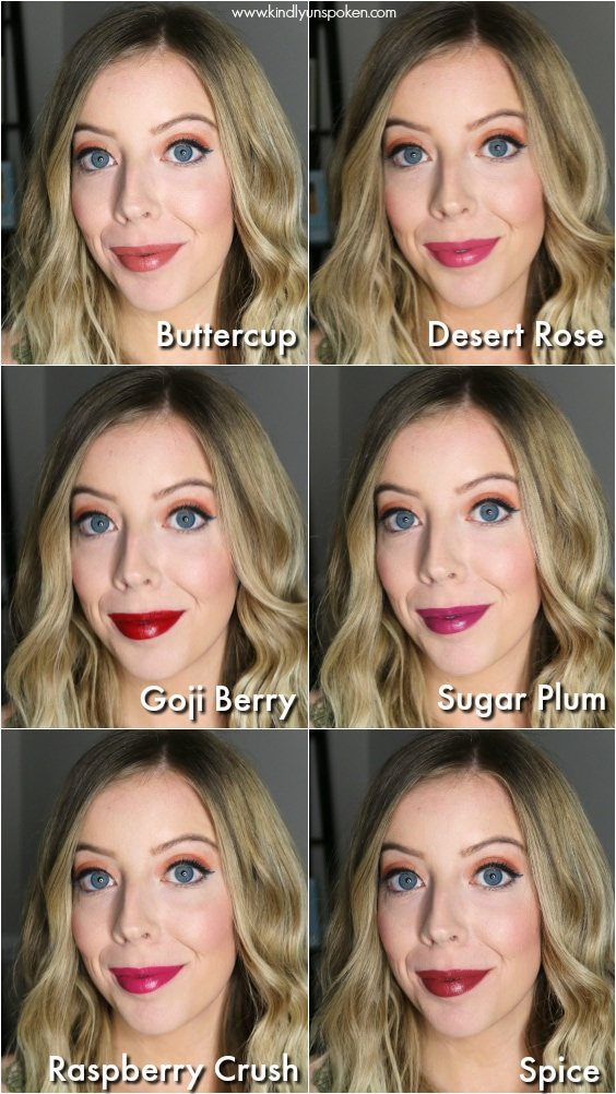 Check out my review and lip swatches of the Physicians Formula Organic Wear Lipsticks. They're 100% organic, have a velvet smooth finish, and come in 6 beautiful shades! #physiciansformula #lipsticks #organiclipstick #drugstoremakeup #makeupreview
