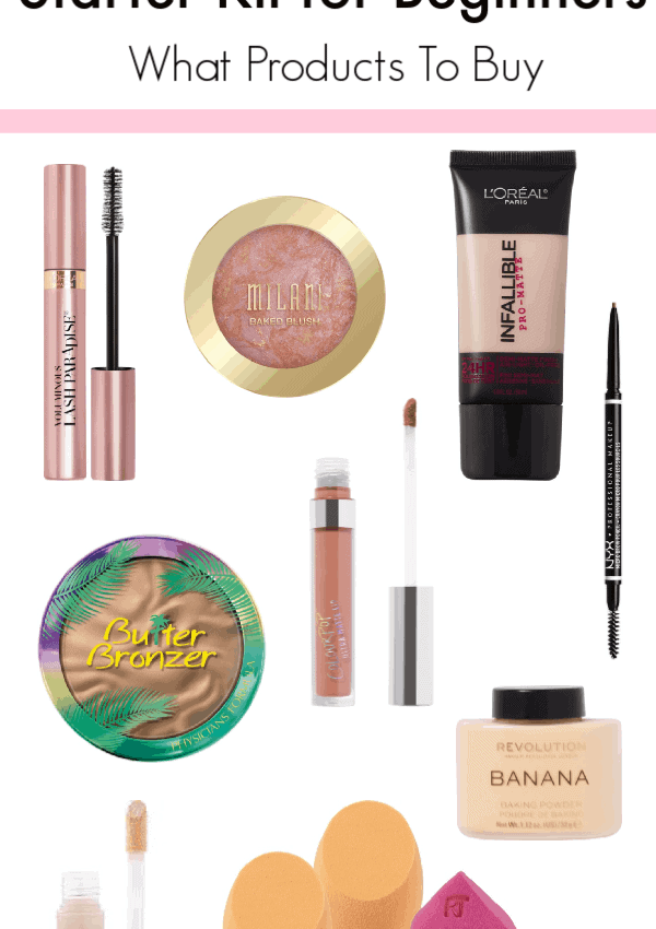 The Ultimate Drugstore Makeup Kit For Beginners