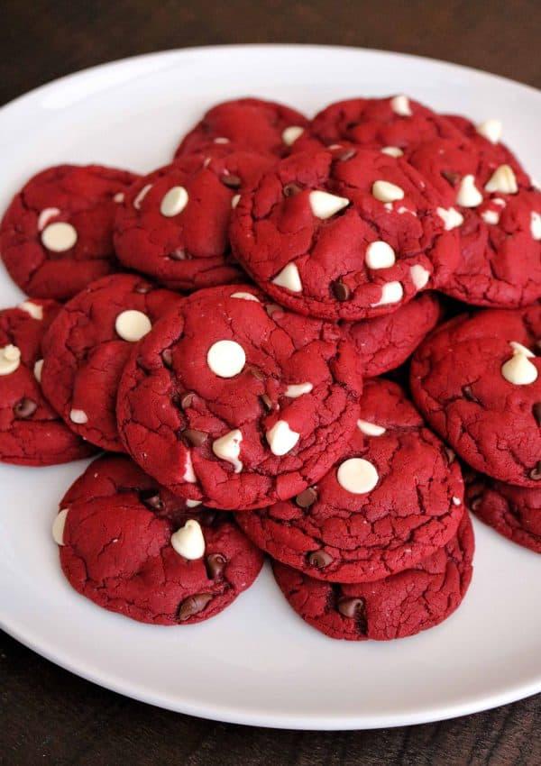 Best Red Velvet Cake Mix Cookies (Easy, 5 Ingredients)