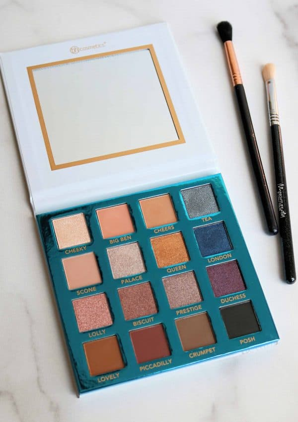 BH Cosmetics Love in London Palette Review