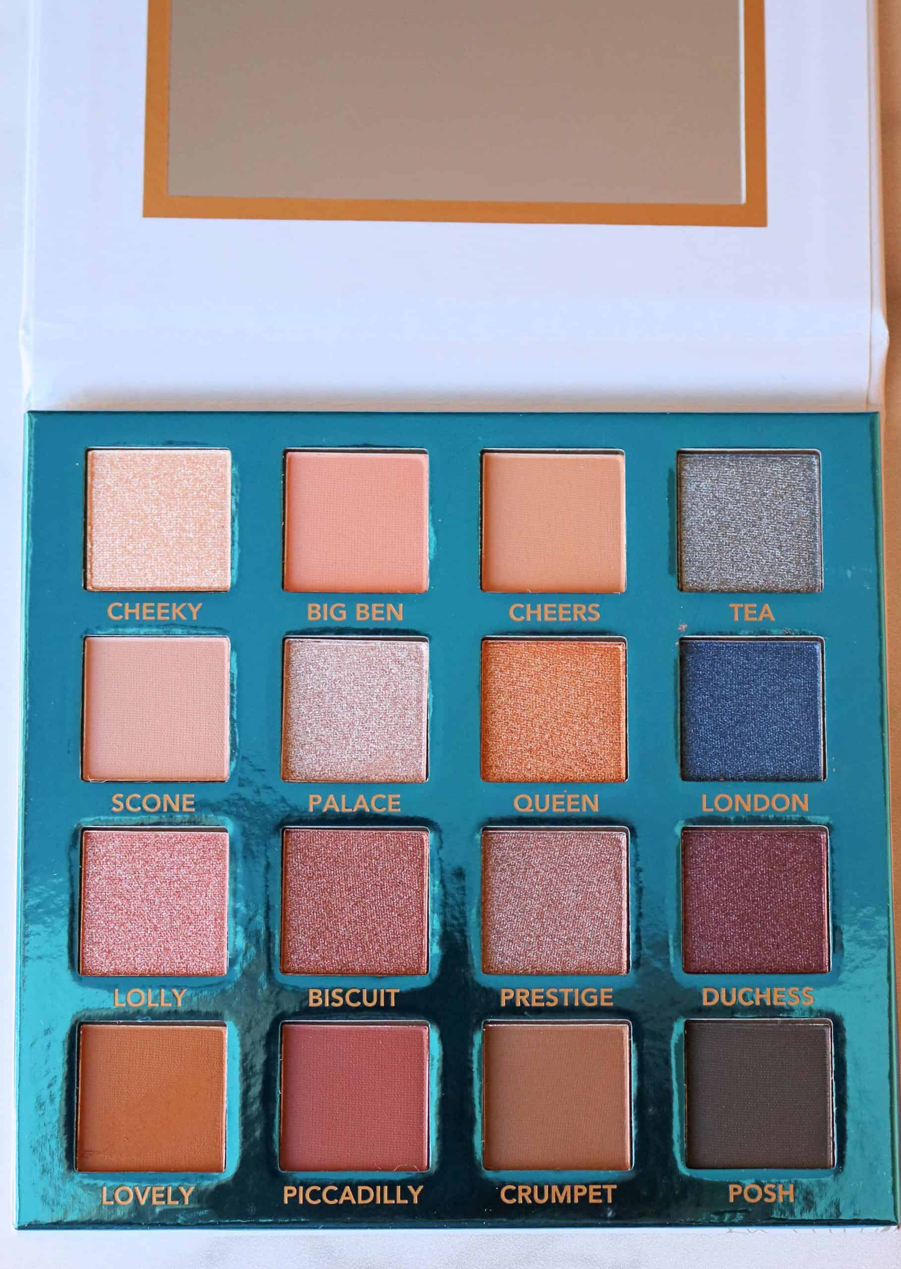Looking for a beautiful and affordable drugstore eyeshadow palette? Check out my review and swatches of the BH Cosmetics Love in London Palette, with 16 gorgeous, cool-toned eyeshadow shades perfect for achieving everyday and smokey eye makeup looks! #drugstoremakeup #bhcosmetics #eyeshadowpalette #makeupreview