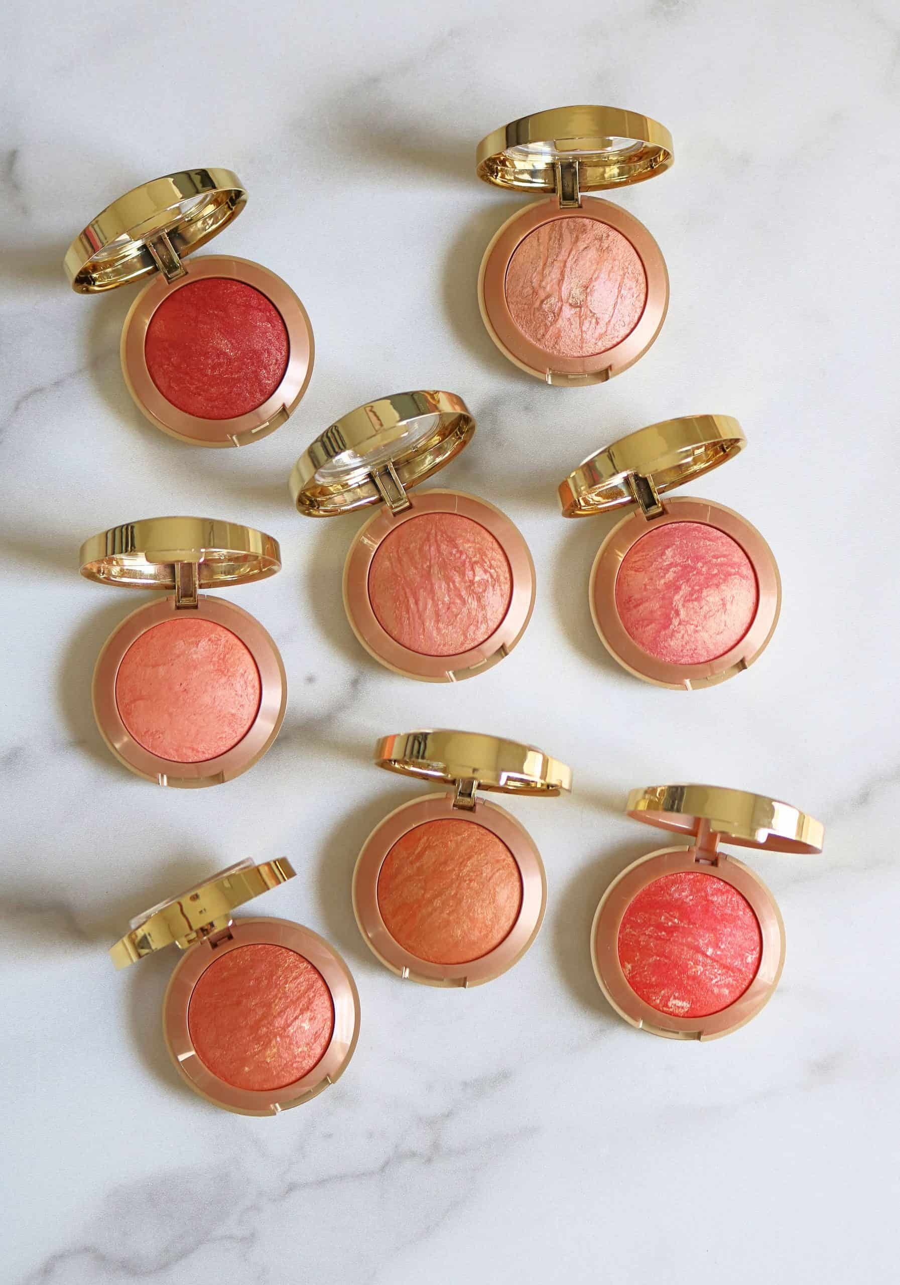 Looking for the best drugstore blushes? Check out my Milani Baked Blushes swatches and review with the 8 BEST shades to buy for your makeup collection. #drugstoremakeup #drugstoreblush #blush #milanibakedblush #bestmakeup
