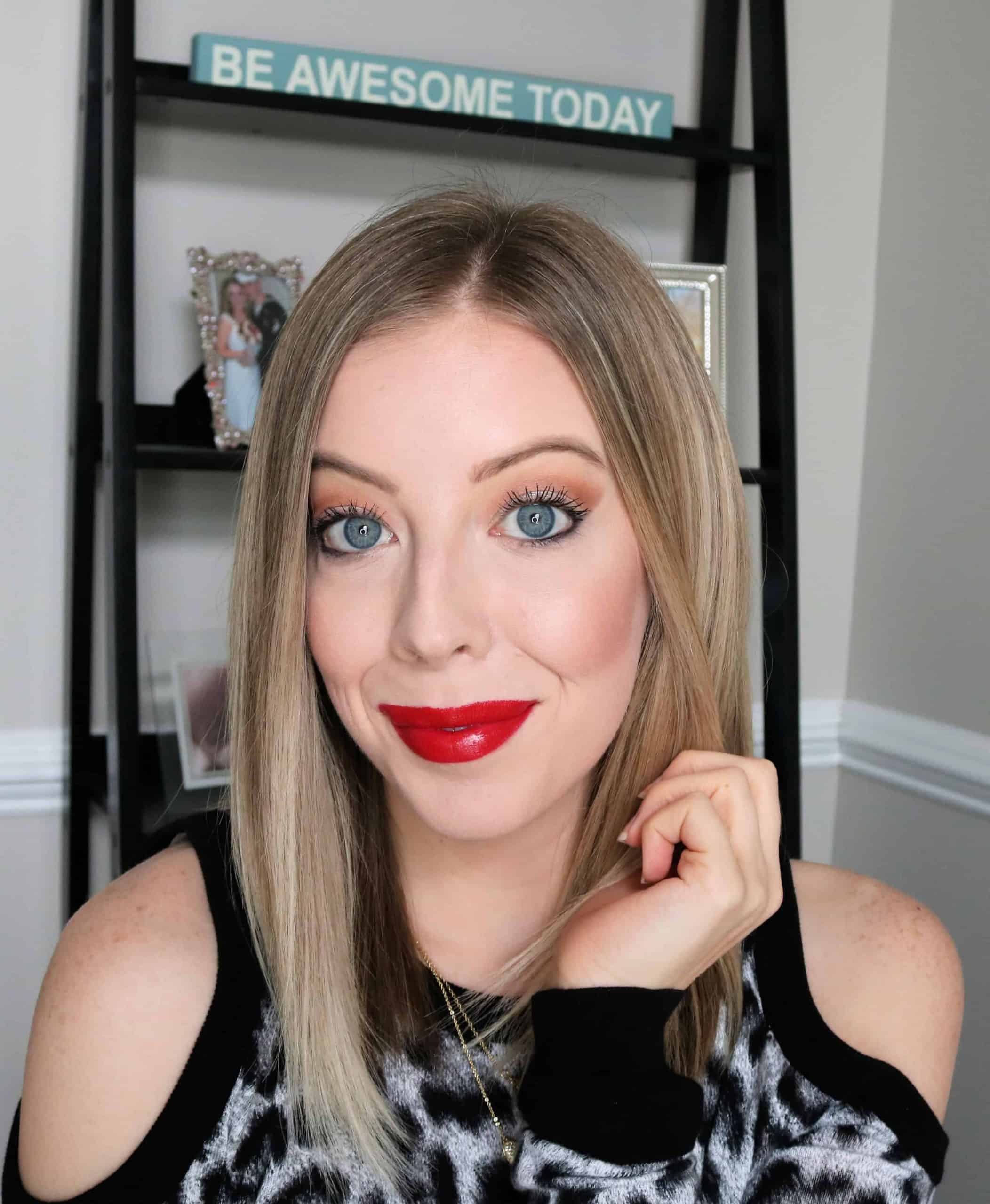 Love red lipstick? Check out the 5 Best Red Lipsticks for Fair Skin with both swatches and recommendations of affordable drugstore lipsticks and high end lipsticks that look beautiful on pale and fair skin tones. #redlipstick #bestlipstick #drugstoremakeup #highendmakeup
