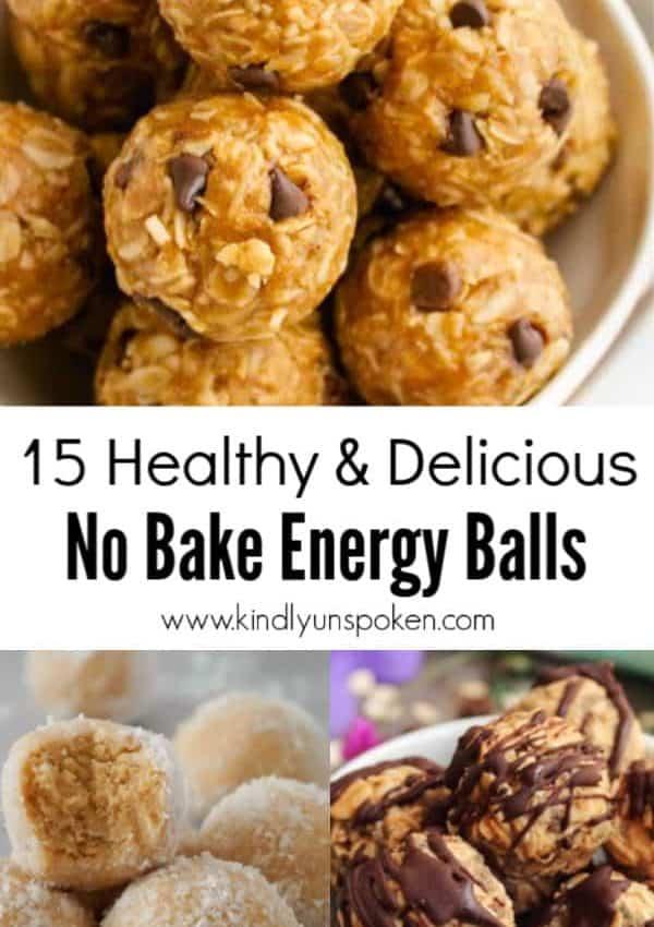 15 No Bake Energy Balls (Healthy & Delicious)